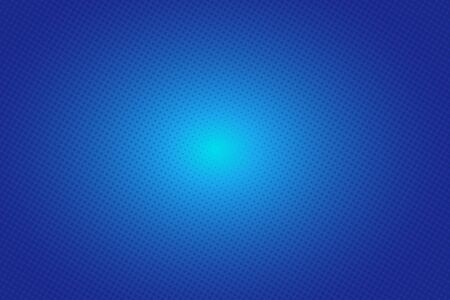 abstract dots halftone pattern on blue gradient background vector Ilustrace