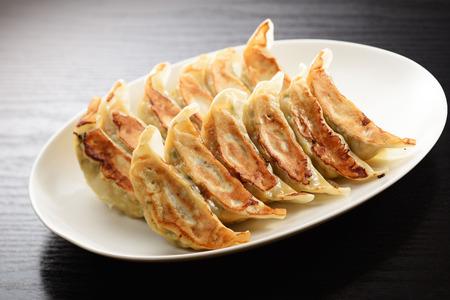 Japanese grilled dumplings Zdjęcie Seryjne