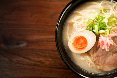 Japanese ramen noodle Zdjęcie Seryjne