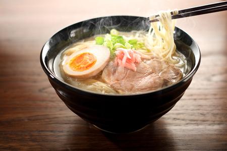 Japanese ramen noodle Standard-Bild