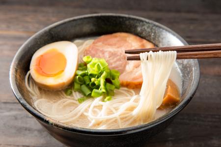 Japanese ramen noodle Stock Photo