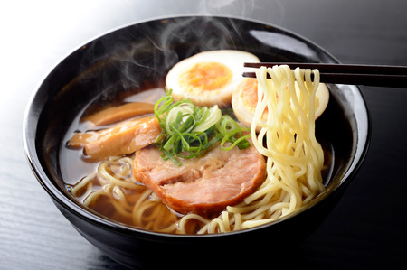 Japanese soy sauce ramen