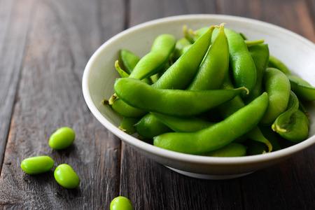 녹색 콩 요리