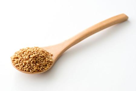 Toasted sesame seeds. Reklamní fotografie
