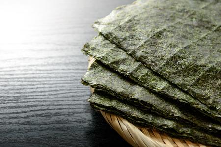 algues séchées japonais