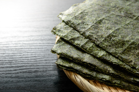 Japanese dried seaweed