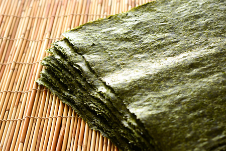 Japanese dried seaweed Stock fotó - 83812267