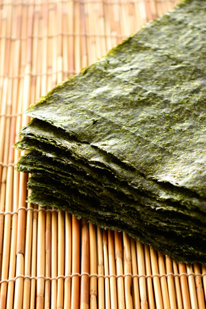 Japanese dried seaweed Stock Photo - 83812268