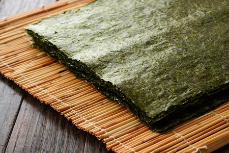 Japans gedroogd zeewier