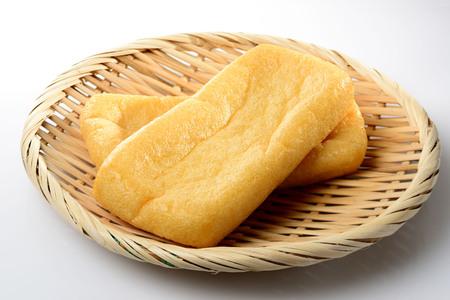 deep-fried bean curd. Japanese food Banco de Imagens