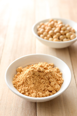 kinako, Toasted soybean flour Stock Photo