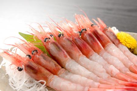 Northern shrimp. Sweet shrimp.