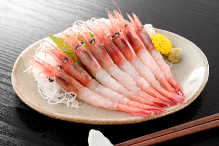 Northern shrimp. Sweet shrimp. Stock Photo - 84049986