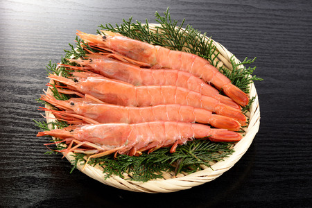Argentine red shrimp 免版税图像