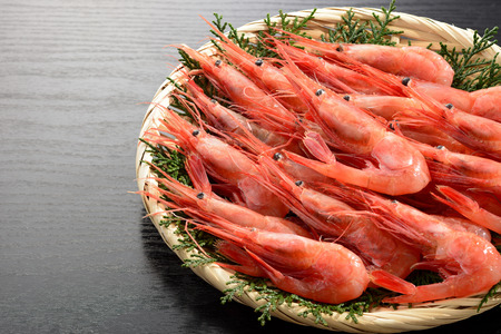 Northern shrimp. Sweet shrimp.