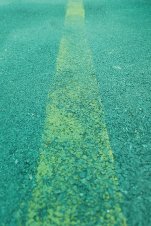 yellow line: Asphalt Road With Yellow Line