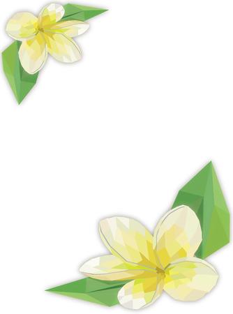 oriental medicine: Spa polygon style background