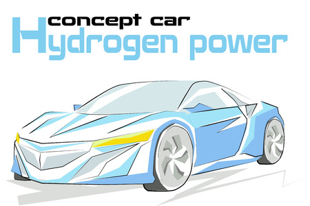hydrogen: Concept car hydrogen power
