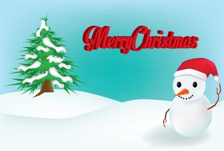 snow man: Vector - Snow Man background