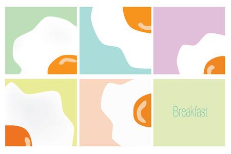 fired egg: Vector - fired egg breakfast concept art Illustration