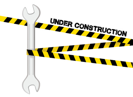 vector sign under construction: Vector sign under construction