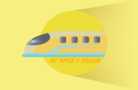 electric train: Vector - High Speed Train