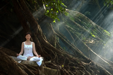 releasing: Meditation, Ananda Yoga