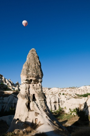 Hot air ballon ride in Cappadocia, Turkey
