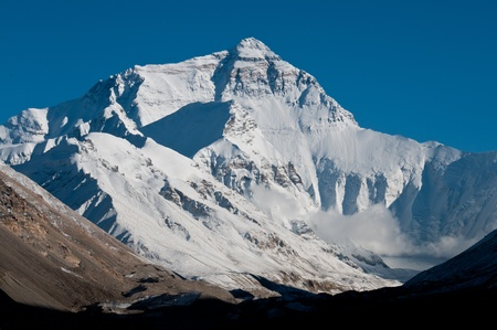 greatness: Mt. Everest Stock Photo