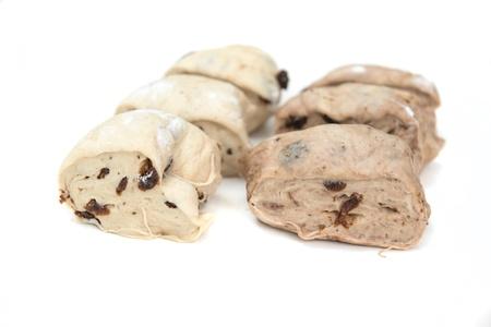 Dough with raisin before baking Stock Photo - 16274048
