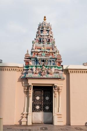 Hindu temple in Georgetown, Penang, Malaysia