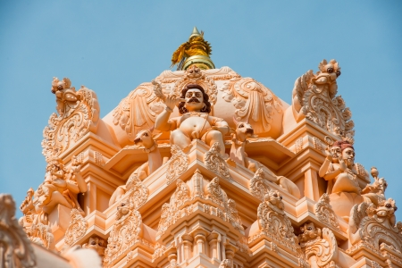 Indian hindu temple in Georgetown, Penang, Malaysia Stock Photo