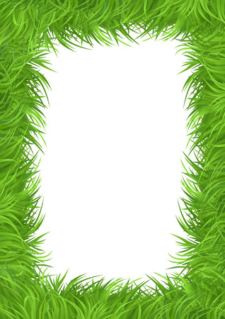 Eco grass concept Vector