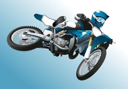 throttle: Biker illustration