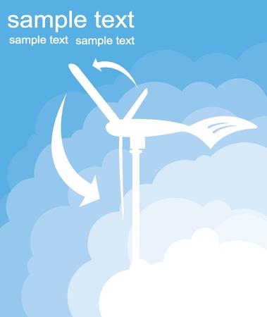 a wind generator Stock Vector - 10267156