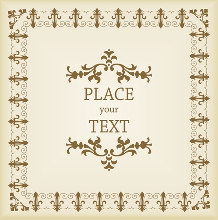 Vintage  Background vector Vector