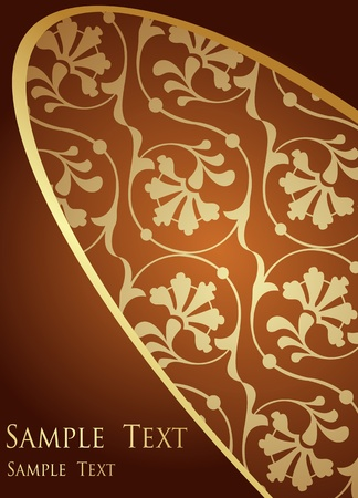 regal: Luxury yellow and brown background vector