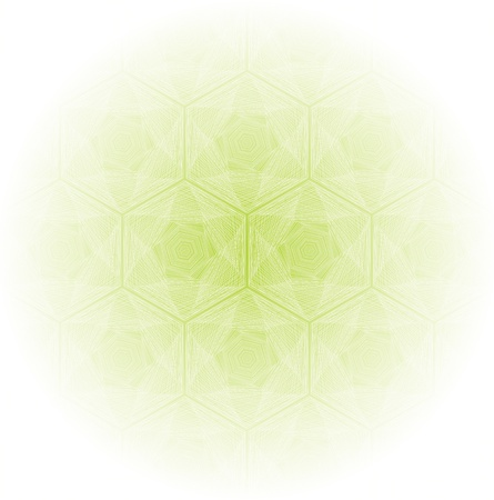 good mood: Green abstract background