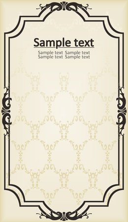 most popular: Vintage vector background Illustration