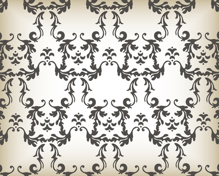 free place: Vector Vintage background for book cover or card Illustration