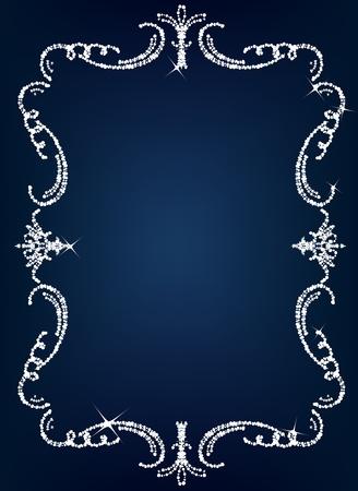 diamante: Cristal de �poca Vectores