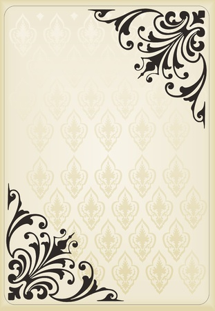 Vintage background Stock Vector - 10330808