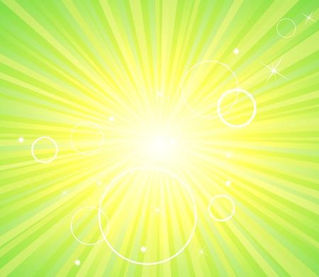 Fondo claro de Ecología abstracto verde