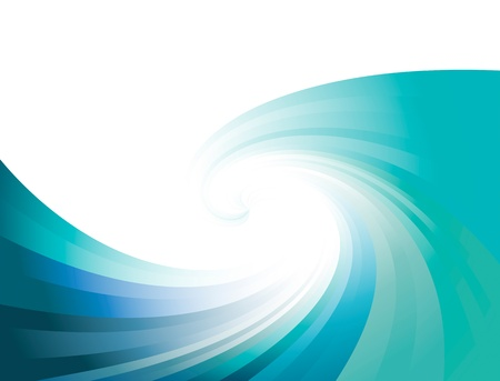 fondos azules: Conocimiento de los negocios de onda ilustraci�n