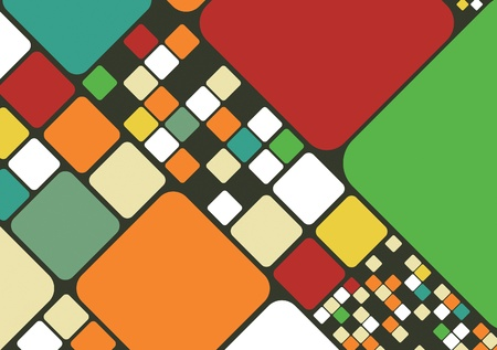 Abstract colorful vector cube background illustration
