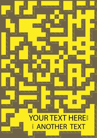 Maze background Stock Vector - 10350687