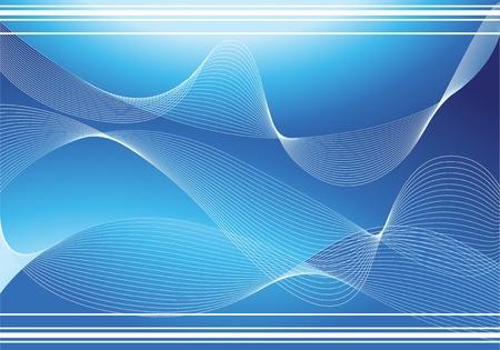 Blaue abstrakte Hintergrund