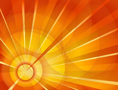 sol: Sun burst background
