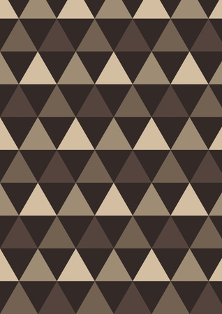 Triangle brown background Vector