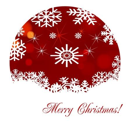 Lovely Christmas background illustration Stock Vector - 10371466